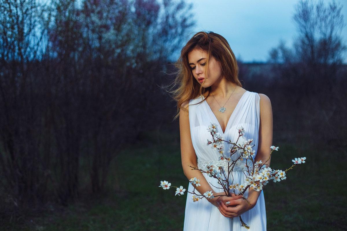 Идеи для фотосессии весной фото