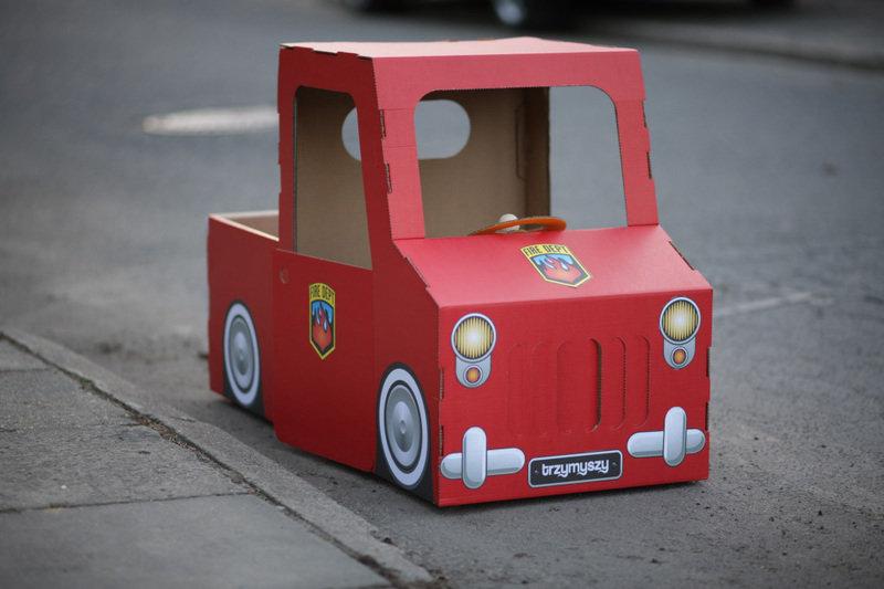 Фото как сделать машину для кукол