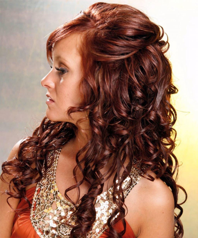 Укладка волос объемная прическа