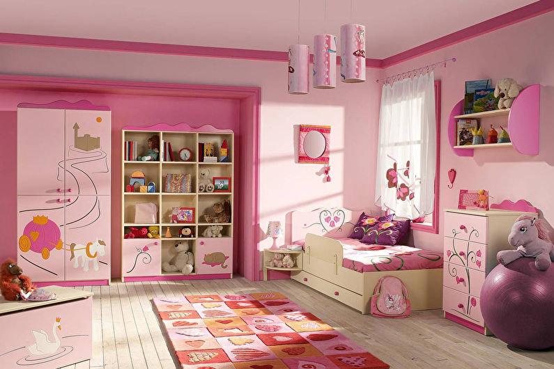 Оформить детскую комнату для девочек своими руками 31
