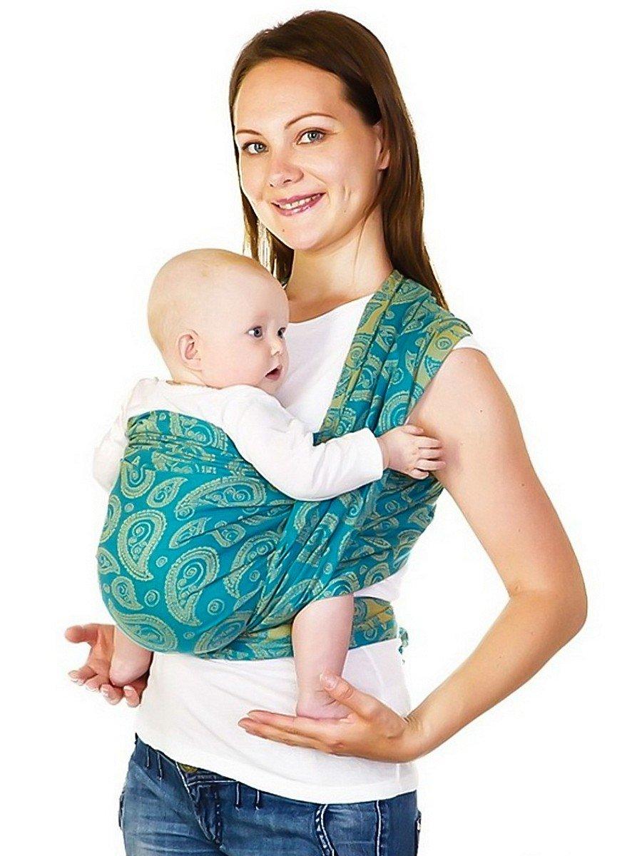 Как сделать слинг для новорожденного