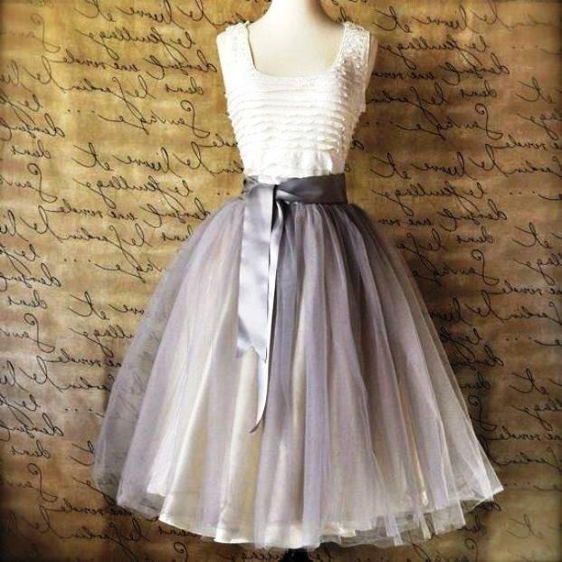 Как сшить платье из фатина пышное для девушки 26
