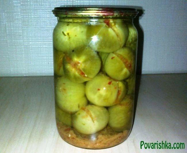 Как консервировать зеленые помидоры домашних условиях