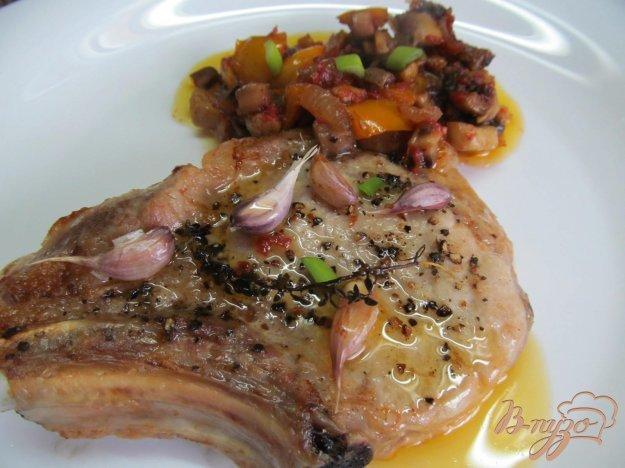 Свиные отбивные с соусом рецепты