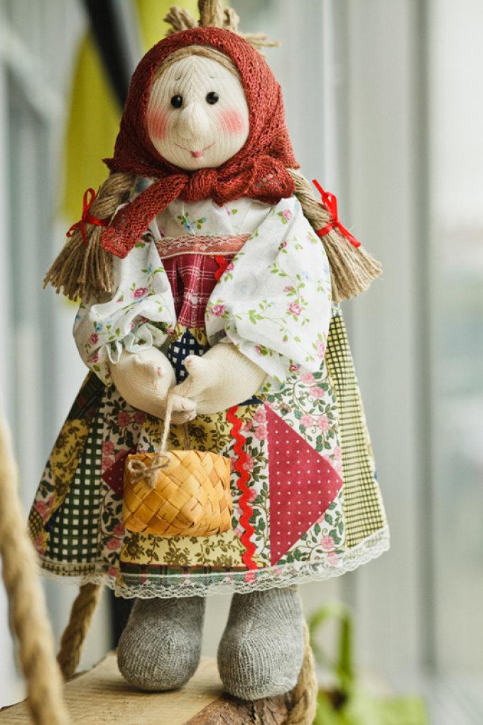 Необычные игрушки из текстиля своими руками 5