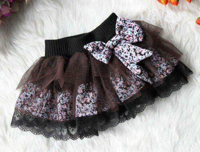 Сшить юбка с воланами на девочку 987