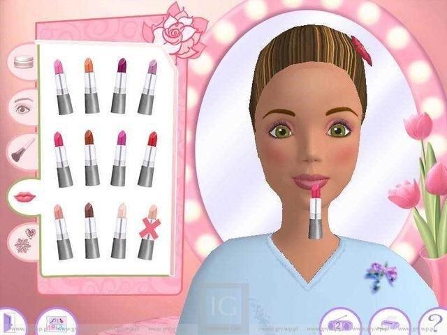 Игры для девочек парикмахерская салон красоты барби одевалки и макияж