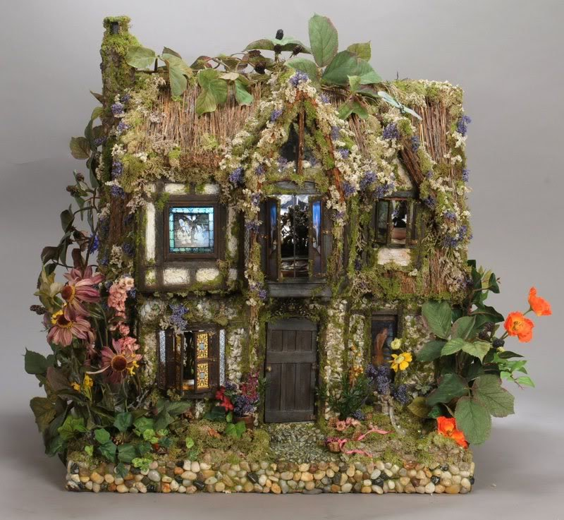 Домики миниатюра