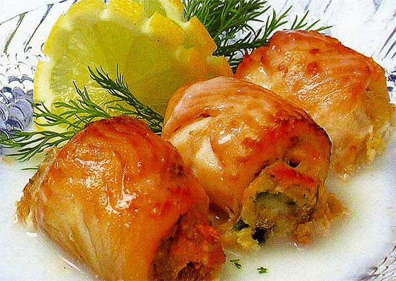 Блюда из рыбы рецепты 110