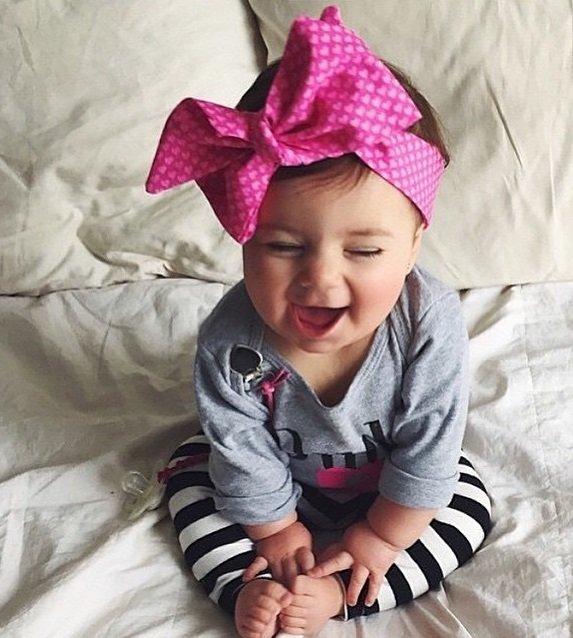 Как сшить повязку на голову малышу 96
