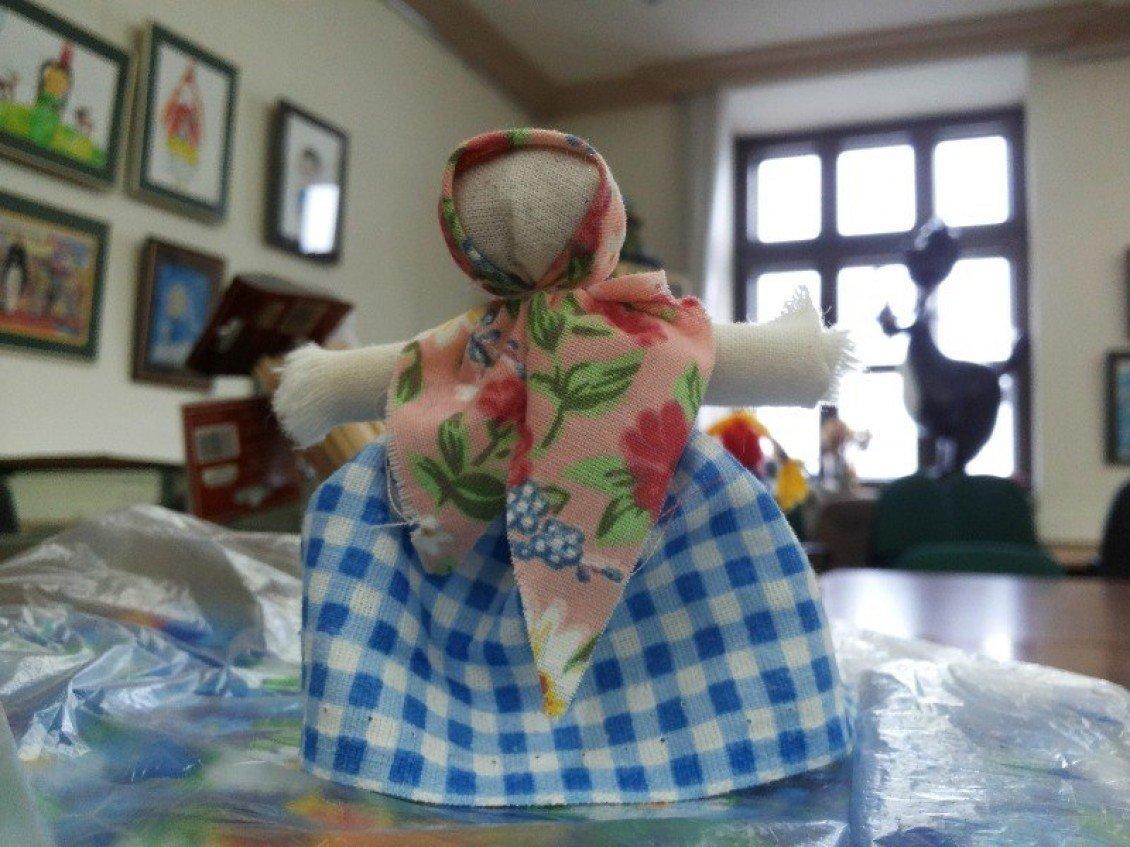Куклы из лоскутков своими руками неразлучники коты