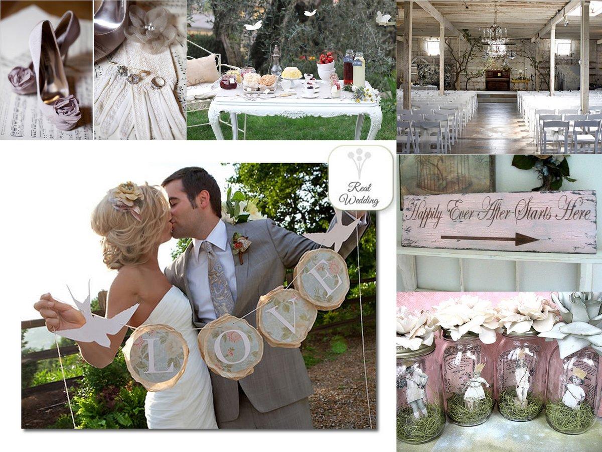 Свадьба в стиле шебби шик фото