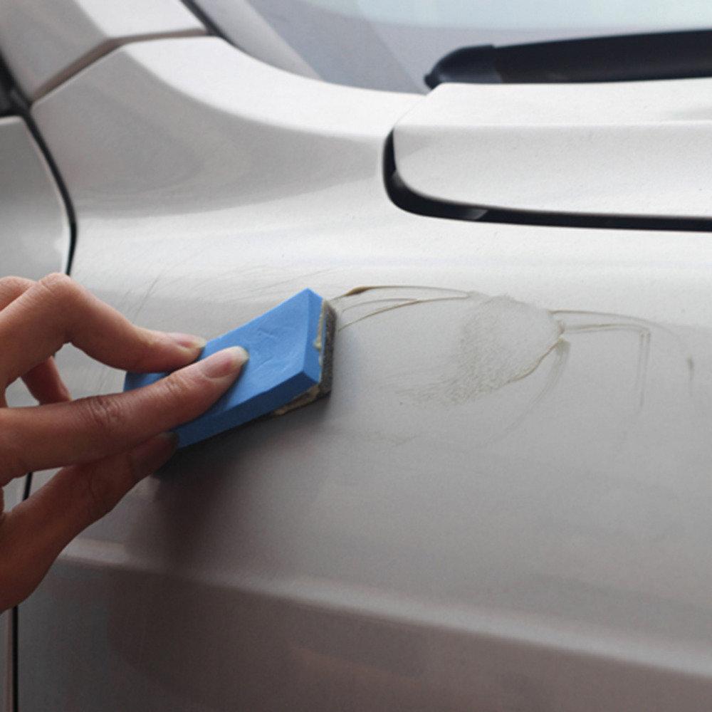 Как убрать царапины на панели автомобиля своими руками 41