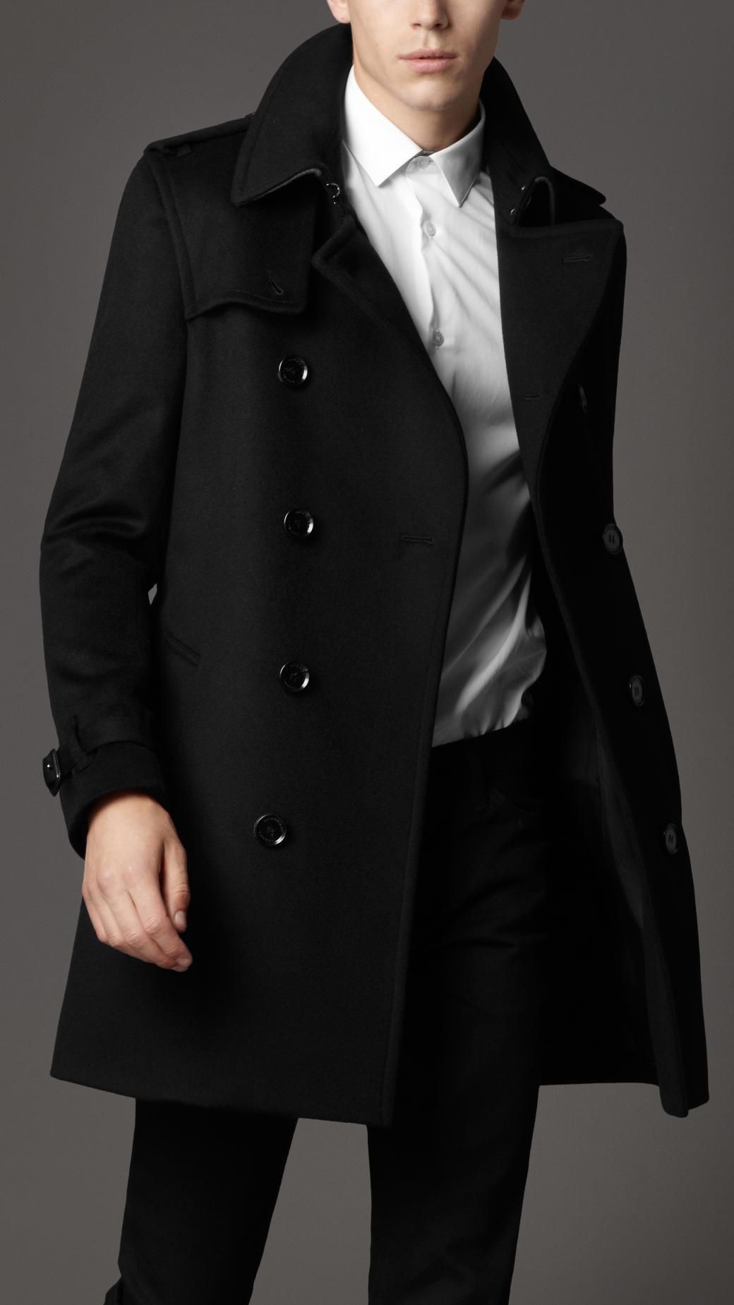 Mens fashion wool coat 48