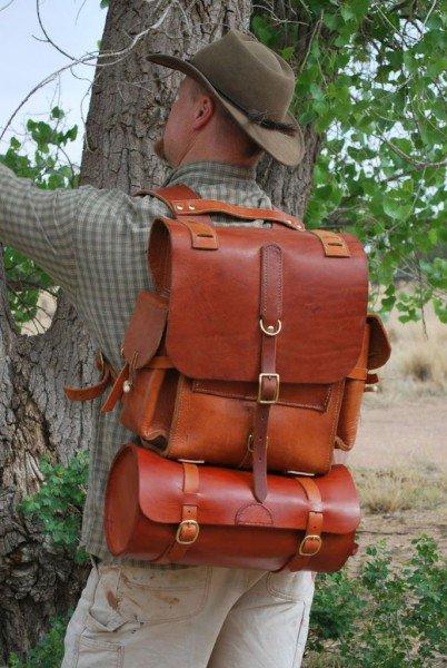 Как сделать кожаный рюкзак своими руками 49