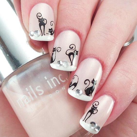 Маникюр На Короткие Ногти Геометрический Дизайн