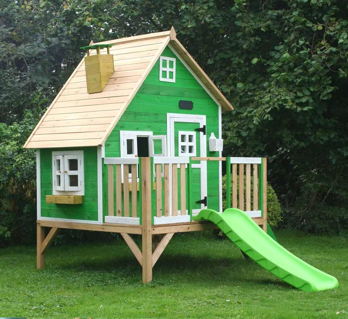 Домик для ребенка на даче своими руками простой
