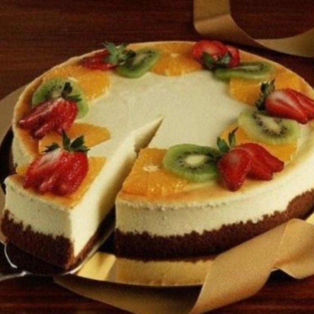 Торт с ягодами сверху рецепт пошагово в домашних условиях