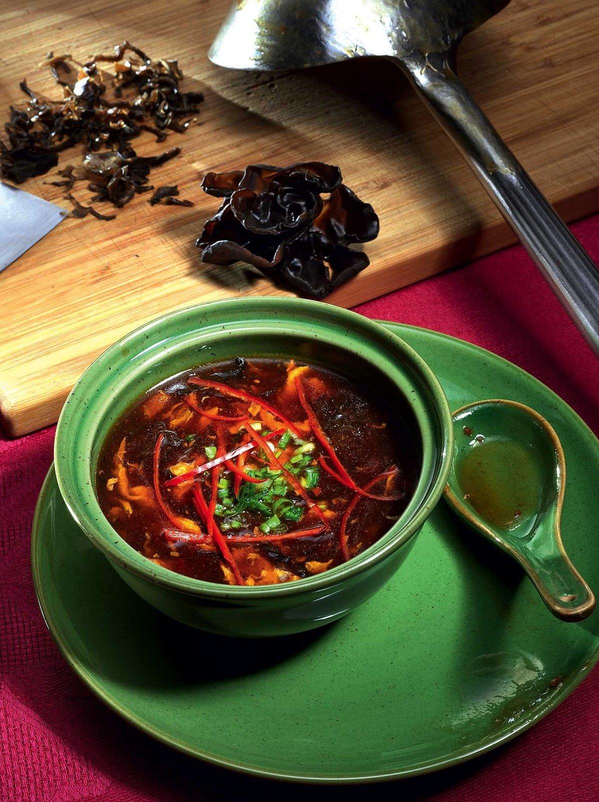 Китайский суп рецепт в домашних условиях