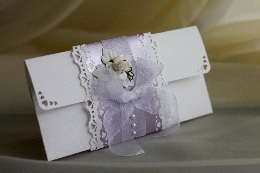 Красивые свадебные конверты своими руками 76