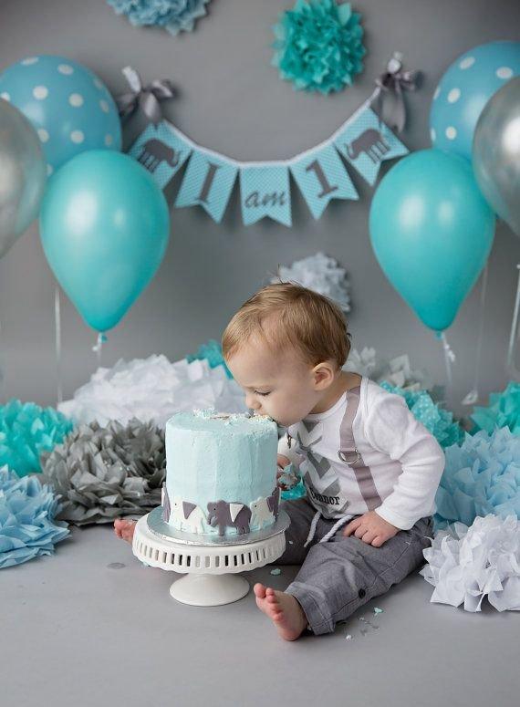 Как оформить день рождения ребенка 1 годик своими руками фото