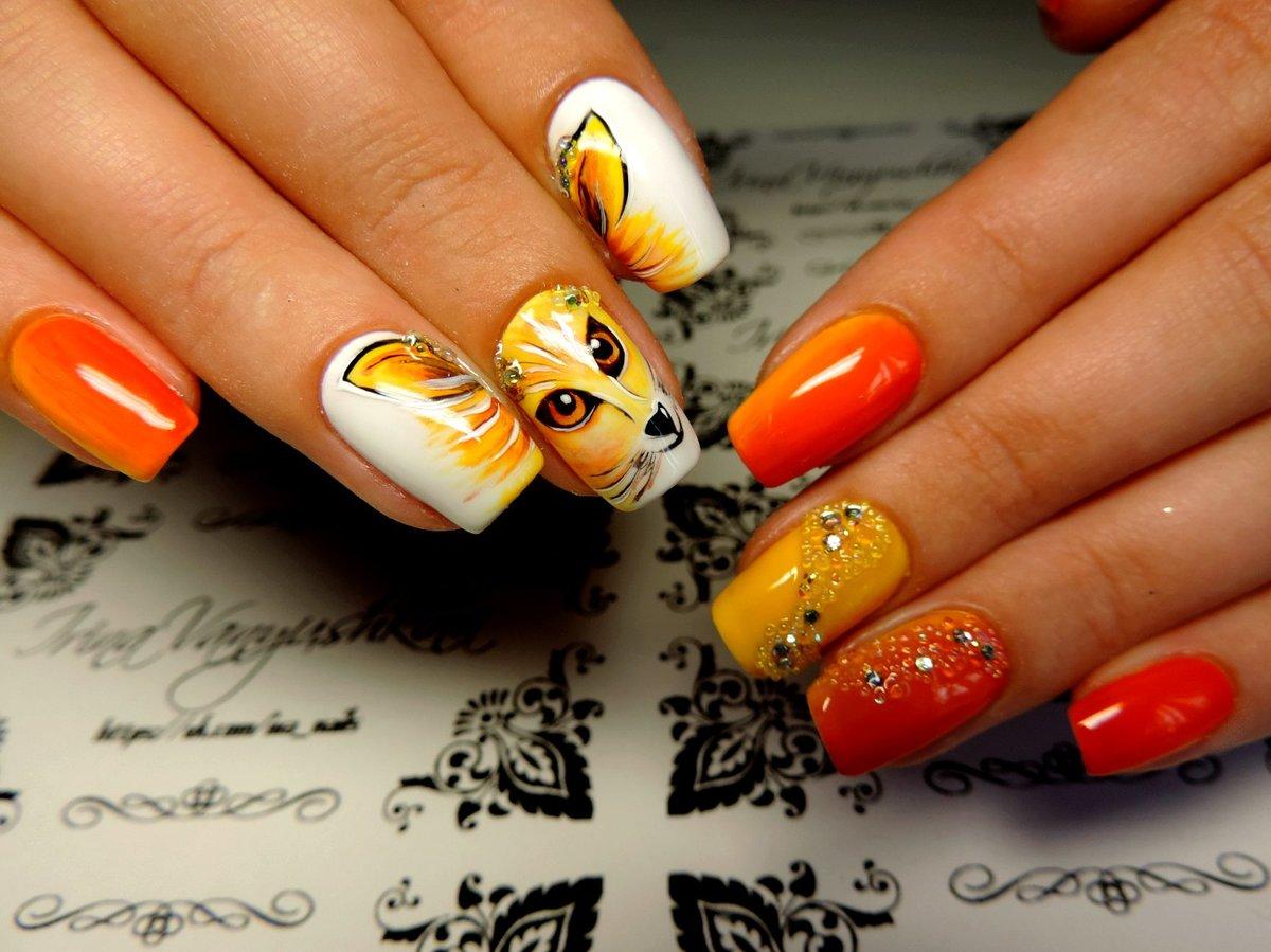 Дизайн ногтей гель-лаком 29