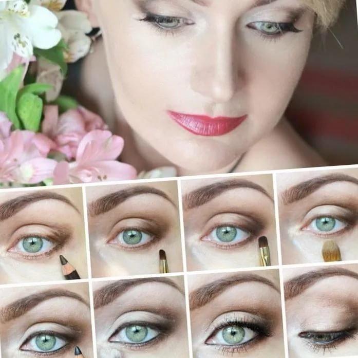 Красивый макияж для свадьбы пошаговое