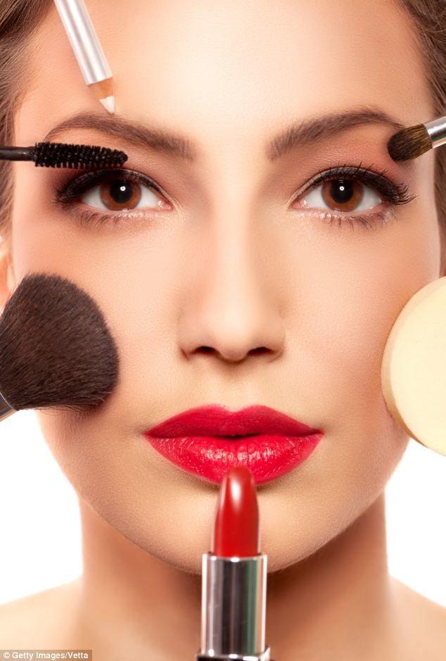 Фото макияжа с последовательностью