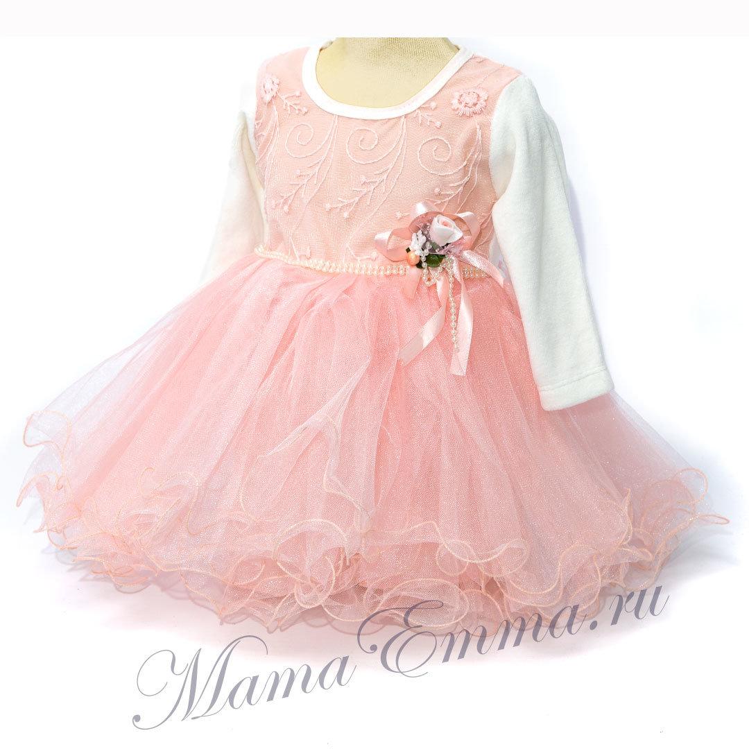 Красивые и модные платья для девочек (72 фото модели) 77