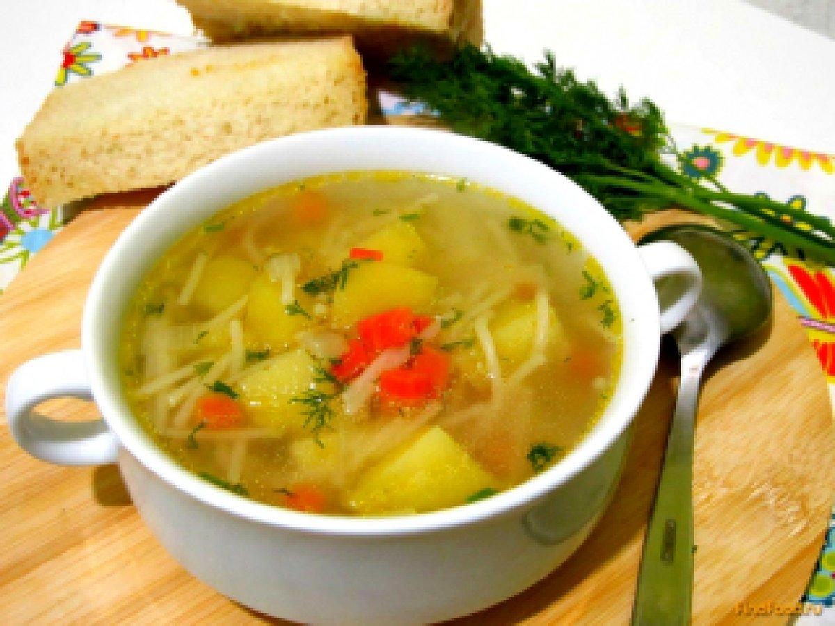 Свиной суп с вермишелью рецепт