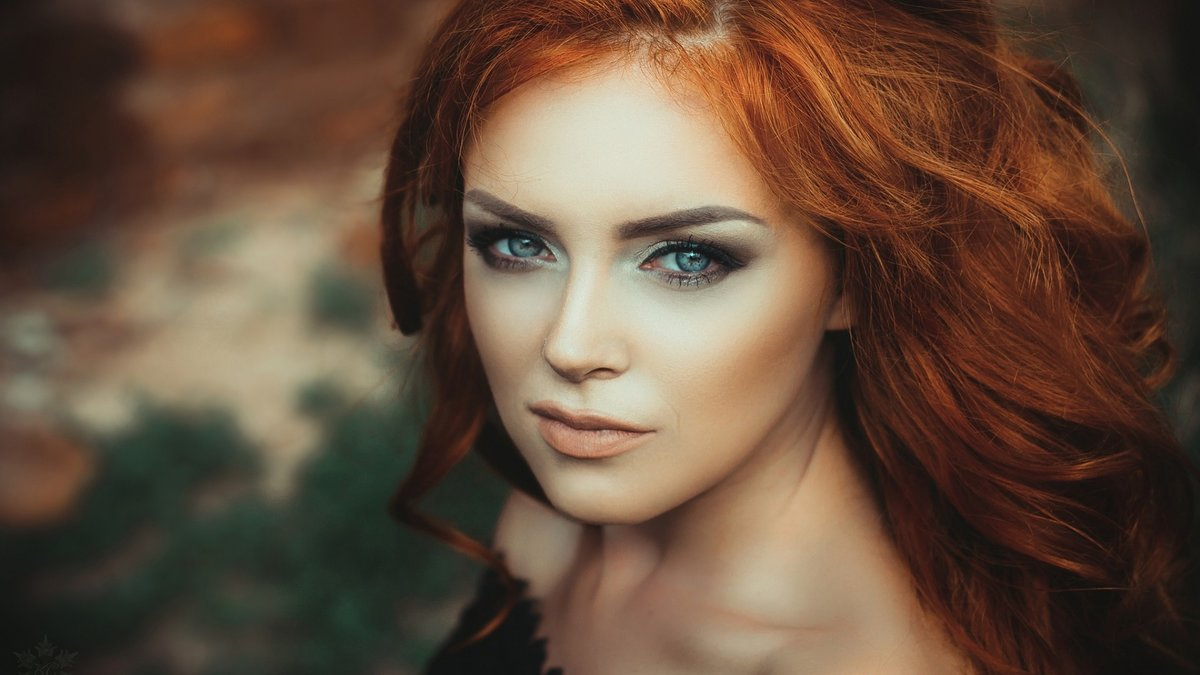 Если голубые глаза цвет волос