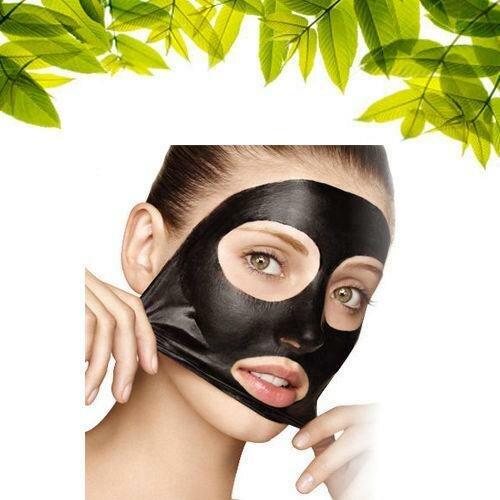 Как сделать чёрную маску для лица своими руками