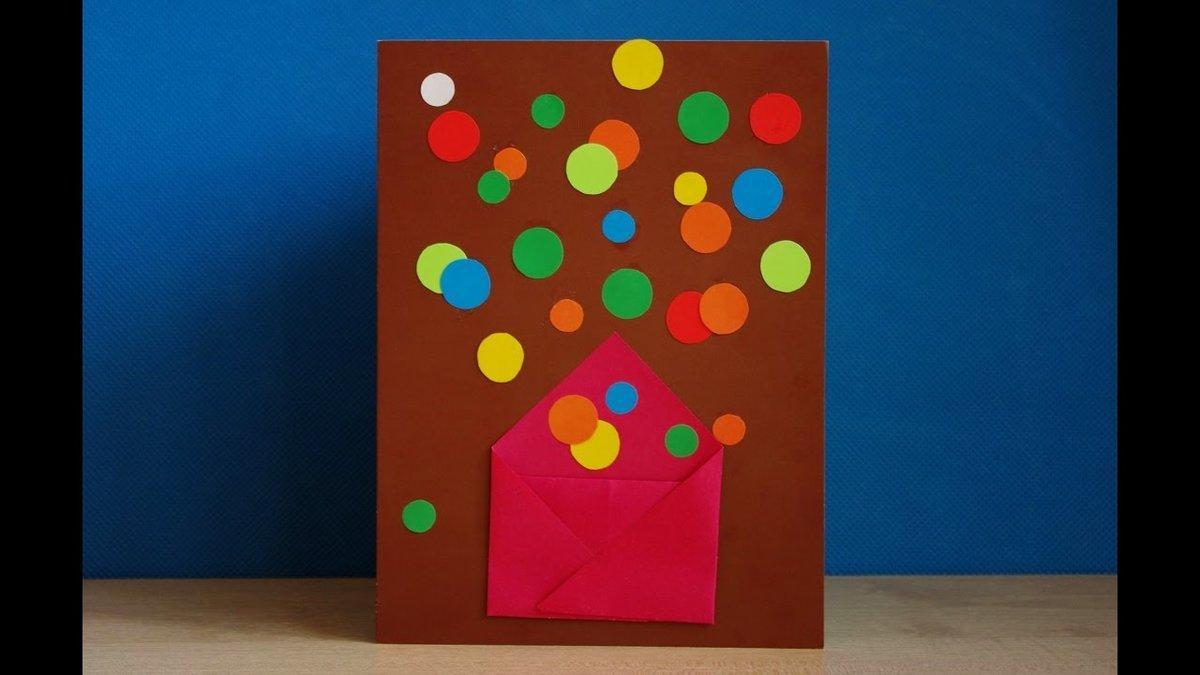 Поделки для дня рождения своими руками для детей 75