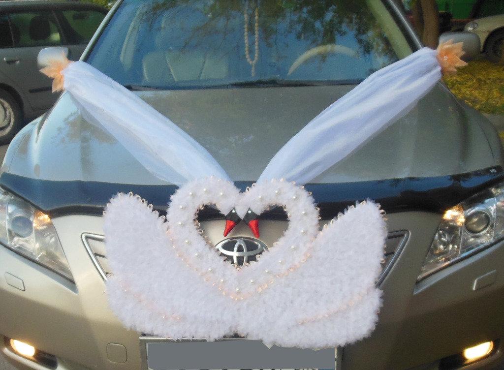 Как сделать своими руками украшения на машину свадьбу 48