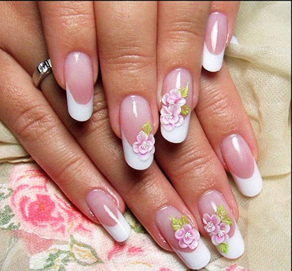 Красивые картинки на ногтях фото френч