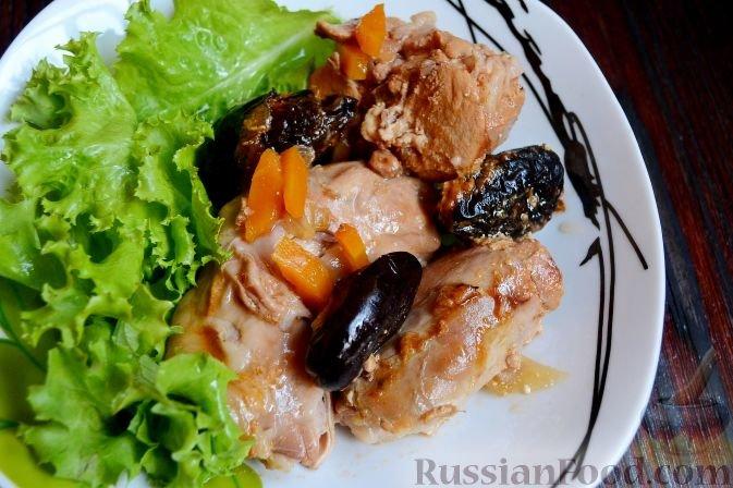 Кролик в мультиварке с черносливом рецепты с пошагово