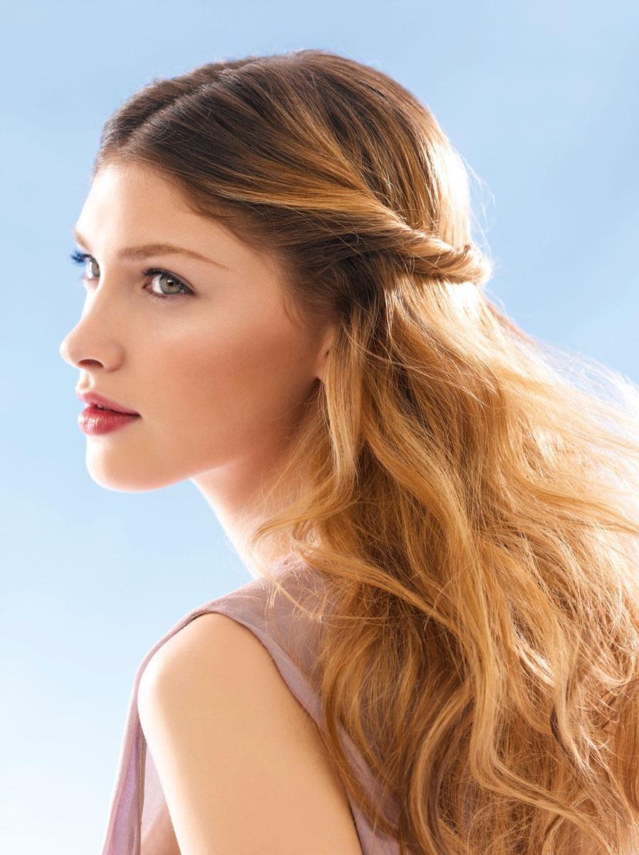 Подобрать прическу на длинный волос