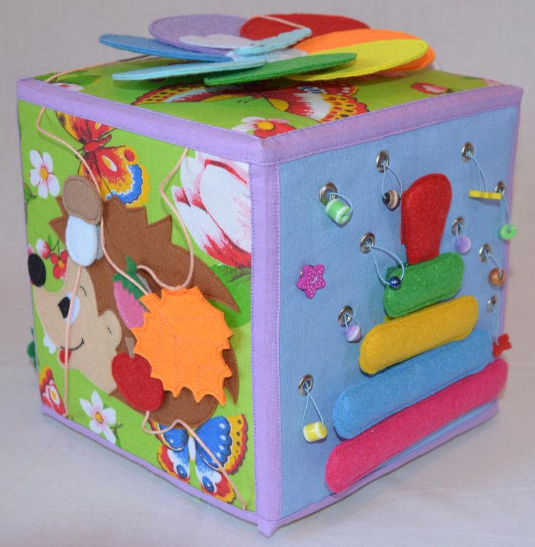 Как сделать развивающие кубики для детей
