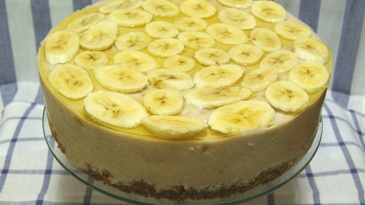 Торт с бананами рецепт пошагово самый вкусный и простой