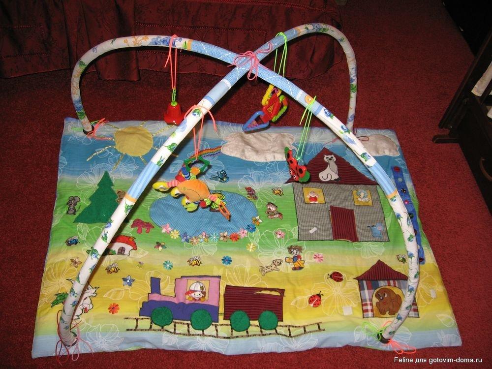 Сшить коврик для малыша 22
