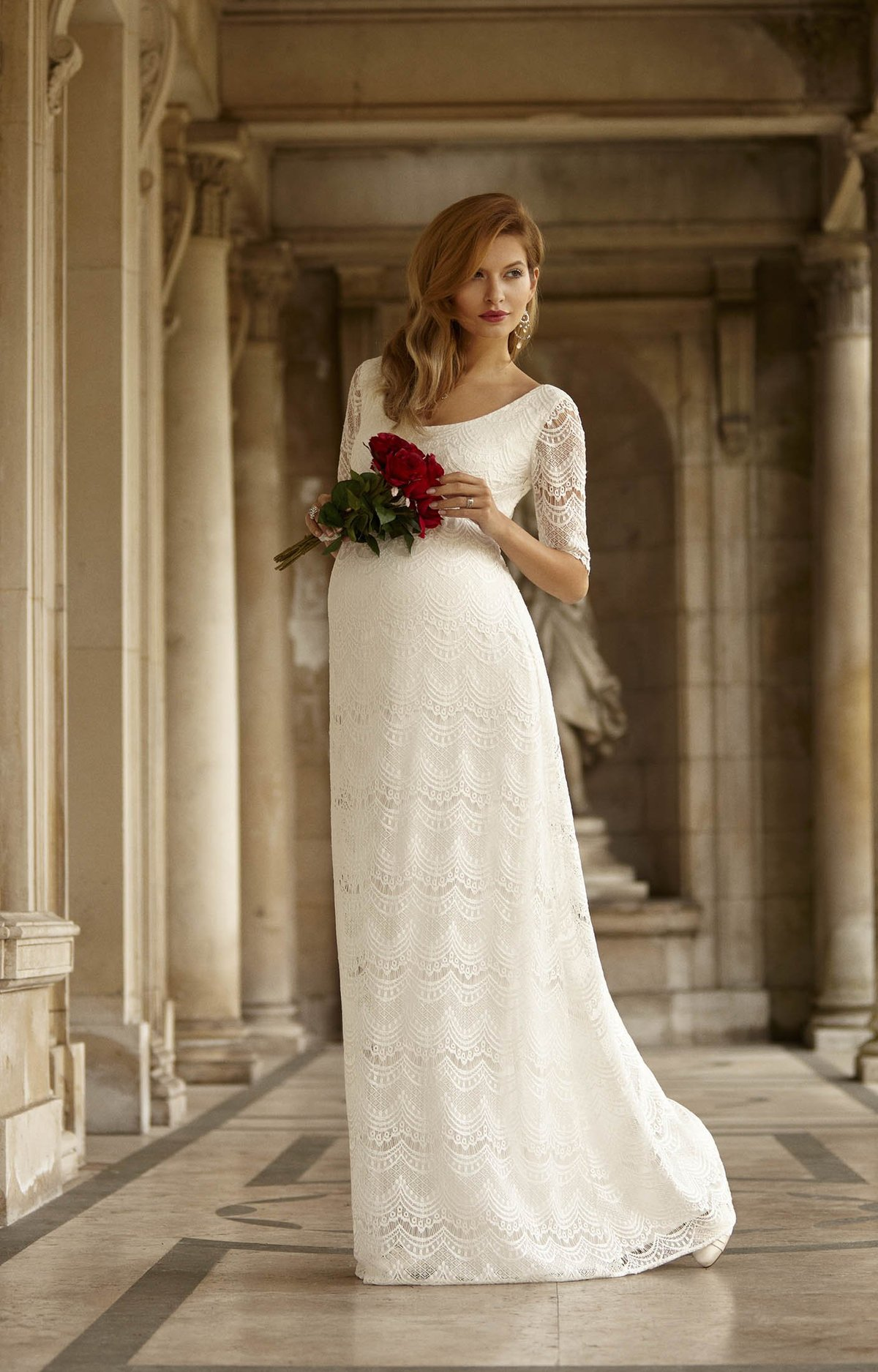 Свадебное платье для беременных спб 316