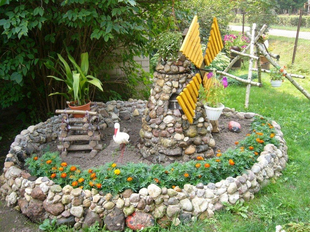 Декоры своими руками в саду 267