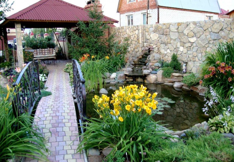 Дизайн садовый участок своими руками фото 22