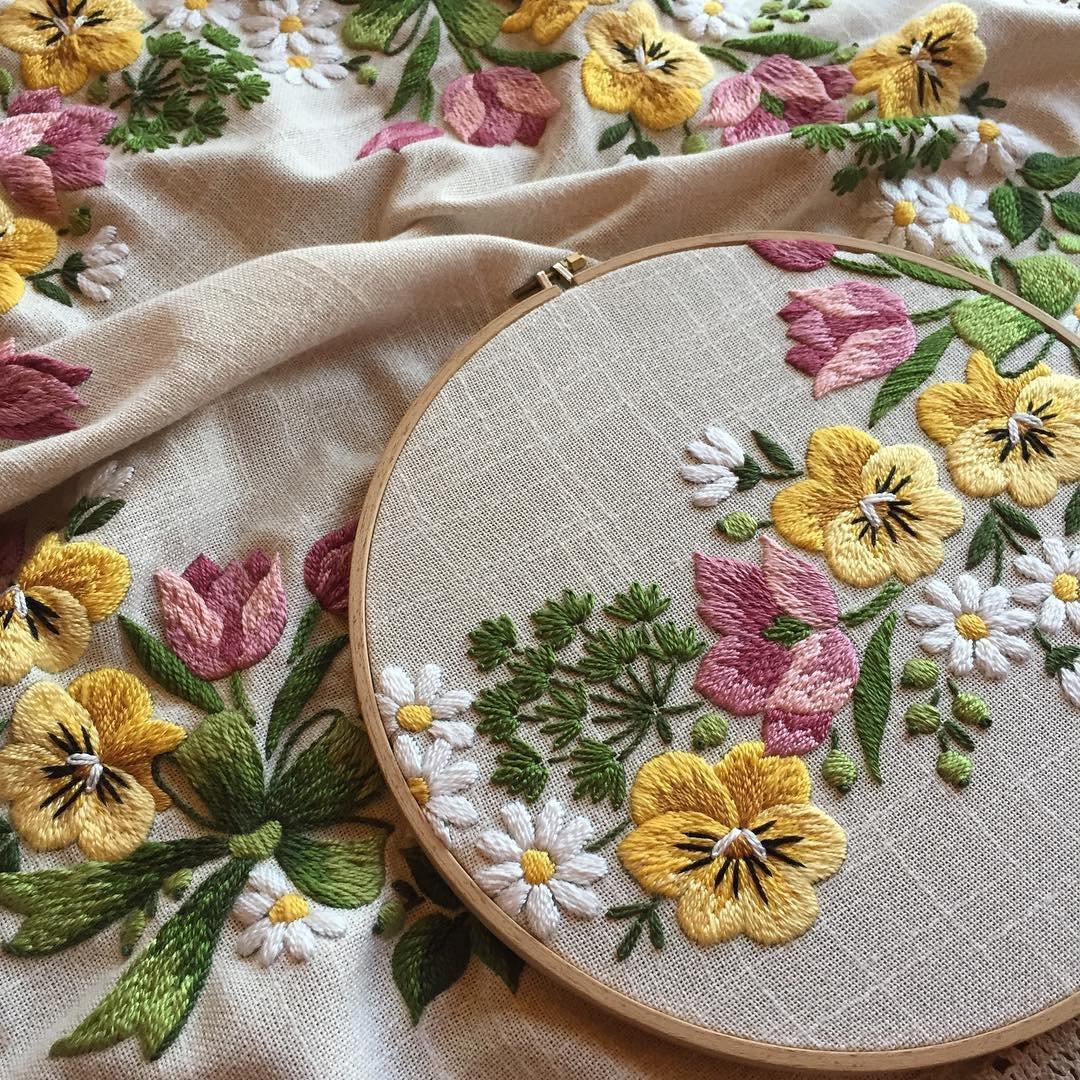 Вязание рукоделие вышивки в контакте 154