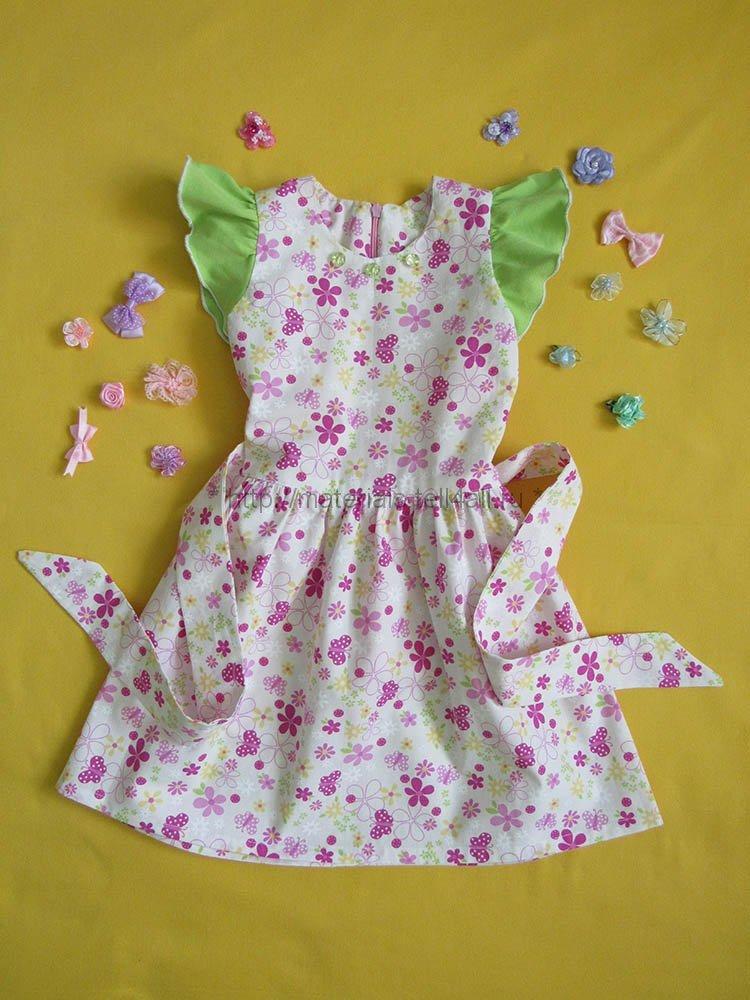Из чего сшить ребенку платье 113