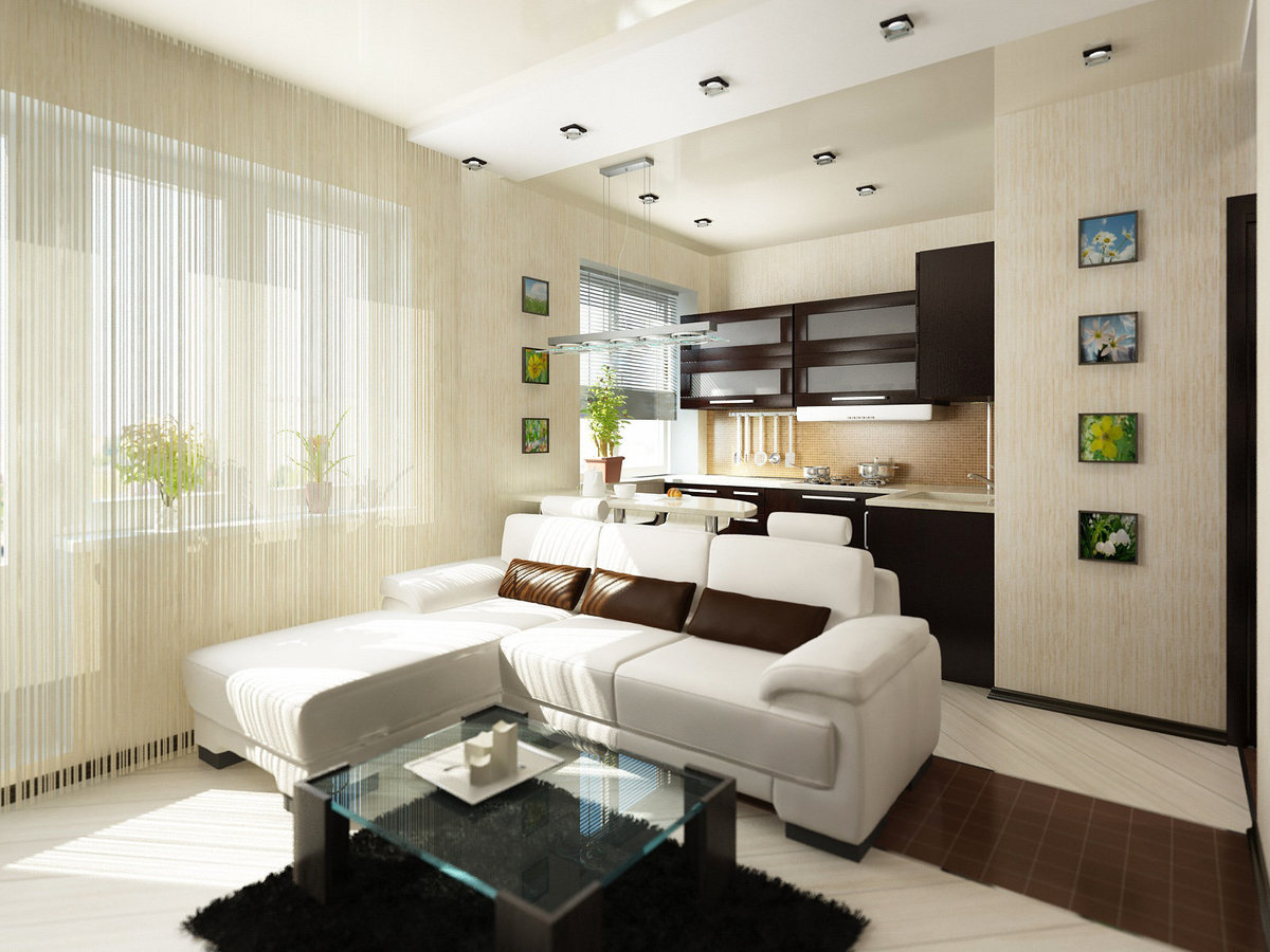Фото дизайн-проекты квартир эконом класса