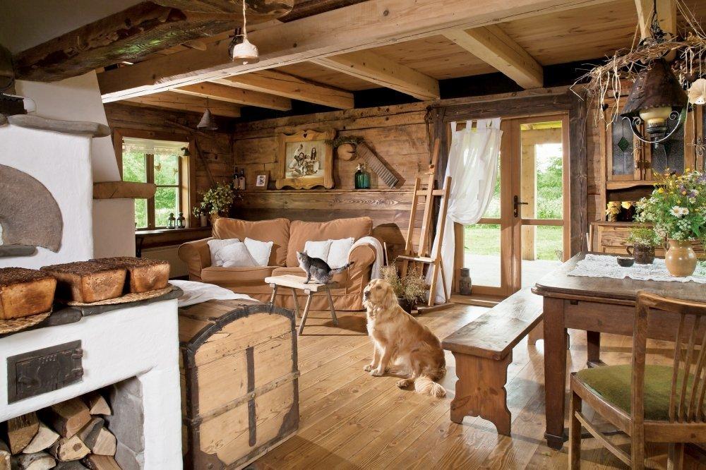 Ремонт деревенского дома своими руками 225