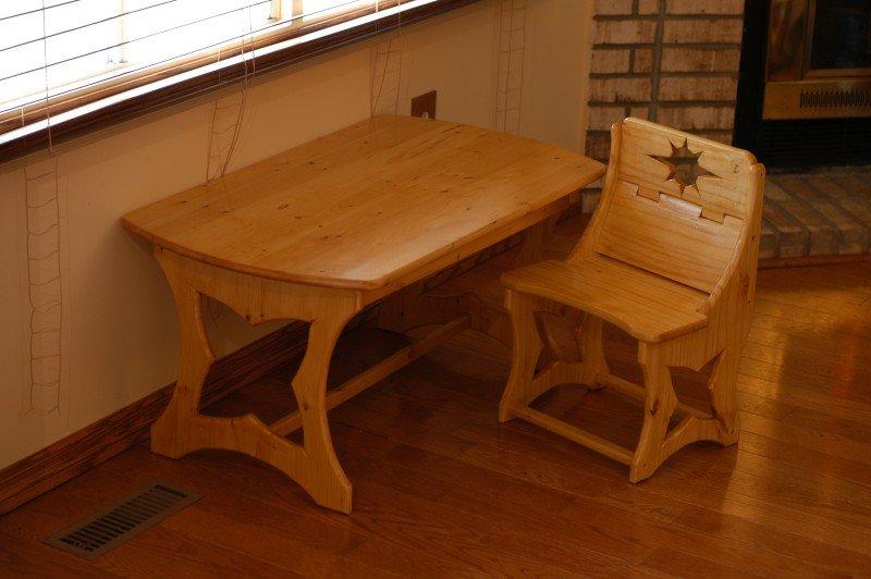Детский стол из дерева своими руками 48