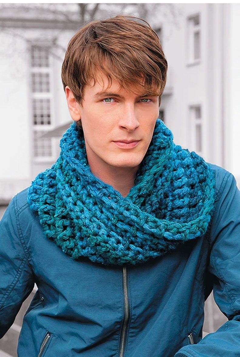 Вязание крючкоммужские шарфы 81