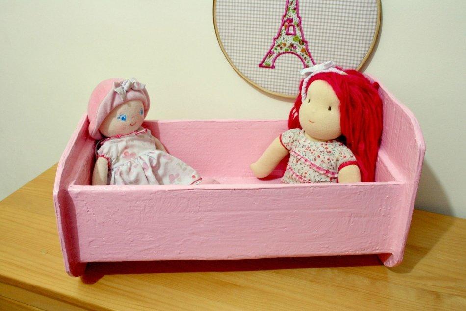 Кровати для куклы своими руками 66